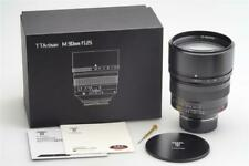 TTartisan 1.25/90mm Black f. Leitz Leica M w. Box