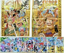 Weekly Shonen JUMP 3-4 5-6 39-41 Set with ONE PIECE poster 2021