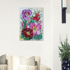 KM_ 1Pc Unfinished Flower Butterfly DIY Multi-shaped Diamond Painting Crafts D