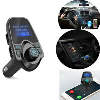 Bluetooth FM Transmitter Wireless Radio Adapter USB Charger MP3 Player Car Kit