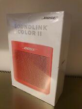 Bose SoundLink Color Bluetooth Speaker II - Red - Brand New & Sealed