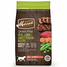 Merrick Grain Free Real Lamb & Sweet Potato Dry Dog Food 4 lb.