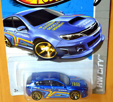 Hot Wheels Subaru WRX STi [Blue/Race/JDM] - New/Sealed/VHTF