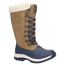 Muck Boots Arctic Apres Lace Tall Boots Womens Waterproof Winter Wellingtons