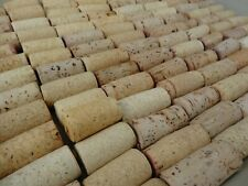 BLANK Unprinted NATURAL Real Used Wine Corks Crafts Art 10 20 30 40 50 100