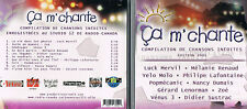 Ca m'chante, Edition 2001 Compilation. CD BRAND NEW, MusicaMonette from Canada