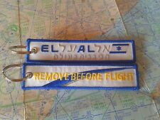 EL AL remove before flight keyring keychain