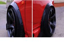 felgen tuning 2x Radlauf Kotflügel Leisten Verbreiterung SCHWARZ für Honda Brio