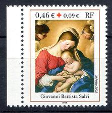 """Croix Rouge 2002. G.B. SALVI. """"Le sommeil de l'Enfant Jésus"""" Y&T n° 3531a"""