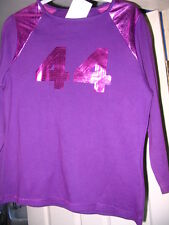 ETAM PURPLE LADIES TOP T SHIRT MOTIF 44  SIZE 14 NEW!! RRP £16.00