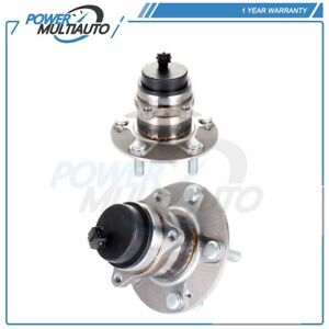 Pair of 2 Rear Left or Right Wheel Hub Bearing For Kia Forte 2010-2013 W/ABS