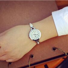 GS:Elegant Damenuhr Spangeuhr Armbanduhr Quarzuhr Stahlband Bicolor Watch M8390