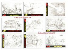 2017 TOPPS MARS ATTACKS THE REVENGE Complete 55 Card Pencil Art Concept Set