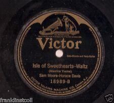 Sam Moore & Horace Davis on 78 rpm Victor 18989: My Old Hawaiian Home