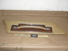 76 Buick Electra 225 4 Dr LEFT DRIVER FRONT UPPER DOOR PANEL & PULL STRAP HANDLE