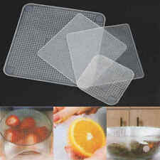 4X Reusable Silicone Food Fresh Keeping Wrap Kitchen Tool Seal Bowl Cover Strech