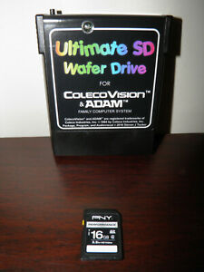 ColecoVision/ADAM Ultimate SD Wafer Drive (with Mario Brothers and Mr. Chin)