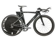 2011 Trek Speed Concept 9.8 Triathlon Bike 54cm Carbon Shimano Ultegra 6700 HED