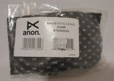 ANON LENS REPLACEMENT LENS Majestic CLEAR New with Tags
