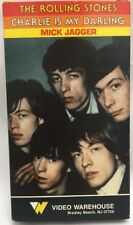 The Rolling Stones VHS Tape Charlie is My Darling Mick Jagger
