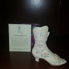 Victorian Wedding Boot #25088 Just the Right Shoe Raine in box & Coa from 1999