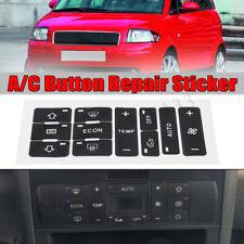 A/C Autocollant de réparer de bouton de commande chauffage Pour Audi A2/ A3 8L