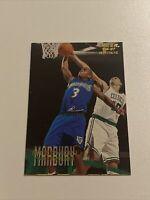 1996-97 Fleer #219 Stephon Marbury Rookie Minnesota Timberwolves RC