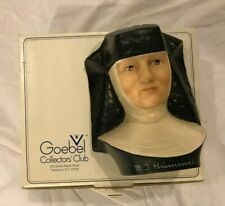 New ListingHummel Goebel Figurine Nun Bust Sister With Box Mj Hummel #3 Collector Club