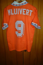 HOLLAND 1996 EURO HOME FOOTBALL SHIRT JERSEY MAGLIA LOTTO VINTAGE #9 KLUIVERT