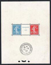 "FRANCE BLOC FEUILLET 2a "" STRASBOURG 1927 "" NEUF xx AVEC CACHET EXPOSITION M790A"