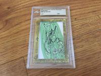 Jordan Spieth 2018 Leaf Cut Signature 1/1 signed autograph autographed card JSA