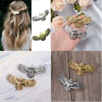 1pc Long Pin Eagle Hair Women Accessories Medieval Raven Hairpin Alloy
