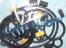Kit  caoutchoucs flipper ATLANTIS  Bally Wiliams midway  1989 elastiques noirs