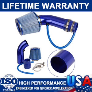 3Inch Cold Air Intake Filter Alumimum Induction Kit Pipe Hose System+Accessories