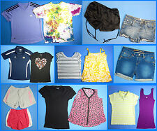15 Piece Lot of Nice Clean Girls Size 14 Spring Summer Everyday Clothes ss61