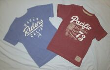 (2) Boys Girls OLD NAVY Premium Calif. Heritage Surf Collection T-Shirt - Size S