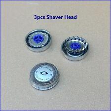 3pcs Philips Norelco HQ56 HQ55 HQ4 HQ3 Reflex Plus 6863XL CloseCut Shaver Heads
