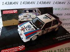 voiture 1/43 IXO Rallye Champions Finlande : LANCIA DELTA S4 1985 martini