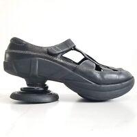 Z Coil Womens Shoes Z Breeze Size 6 Black Sandals Black Leather Pain Relief $260