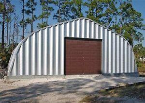 Large Unused - Steel Building / Garage 40'w x 50'l x 18'h suits Vintage Lorry