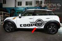 #01 Side Stripes Graphics Decal Stickers For Mini Cooper Countryman 2000 to 2019