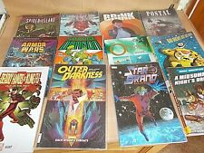 More details for a collection of 12 graphic novel books all are listed all are in v.g.c.