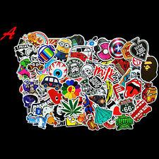 100pcs Novel Random Decal Graffiti Sticker Bomb Laptop Waterproof Stickers Skate