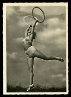 1937 Germany 3rd Reich Postcard German Hitler Era Sports Beach Beauty Racy Sexy