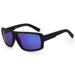 Dragon Polarized Double Dos Sunglasses - Matte Black H2O Blue Ion Lens 720-2292