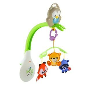 Keima Carousel Woodland 3 in1 Projection Mobile Owl