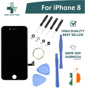 """For Apple iPhone 8 4.7"""" LCD Display Touch Screen Digitizer Unit Black With Tools"""