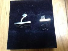 Sterling silver 925 cuff-links