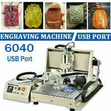 Usb Cnc Router 6040z 4 Axis Engraver Engraving Machine Woodwork 1500w Vfd 15kw