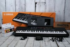 Yamaha PSRE263 61 Key Portable Keyboard with 400 Voices and SK B2 Survival Kit